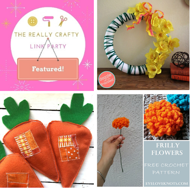 The Really Crafty Link Party #161 featured posts