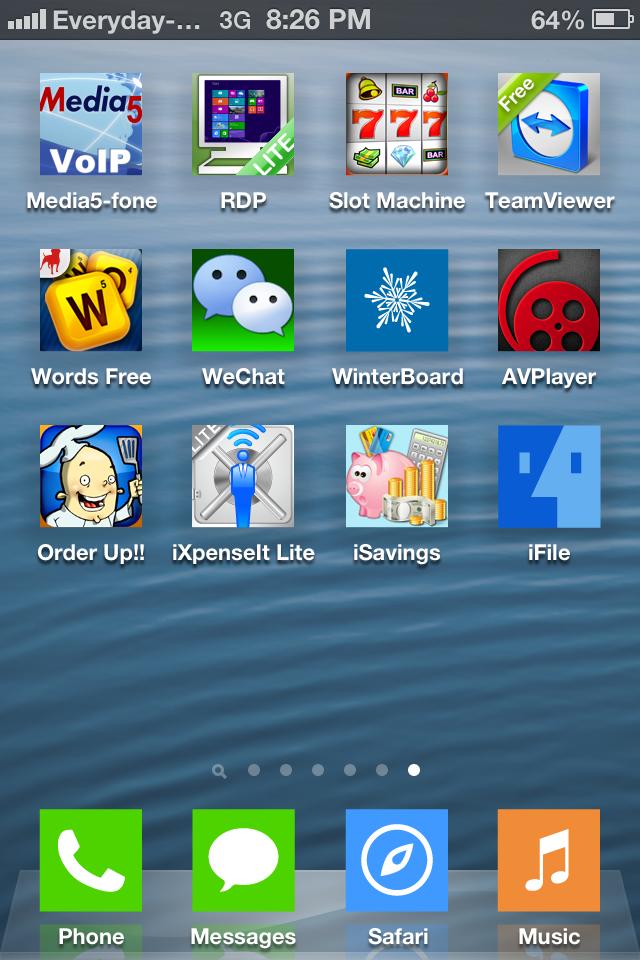 Fake iOS version in iPhone, iPad, iPhone using iFile