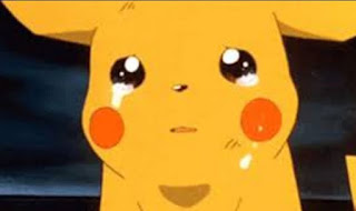 Gambar Pikachu Menangis Sedih Pokemon Go Kartun Animasi