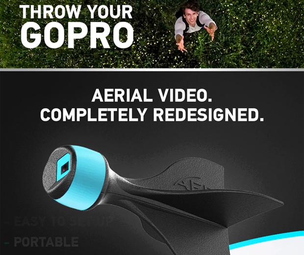 AER GoPro Foam Dart