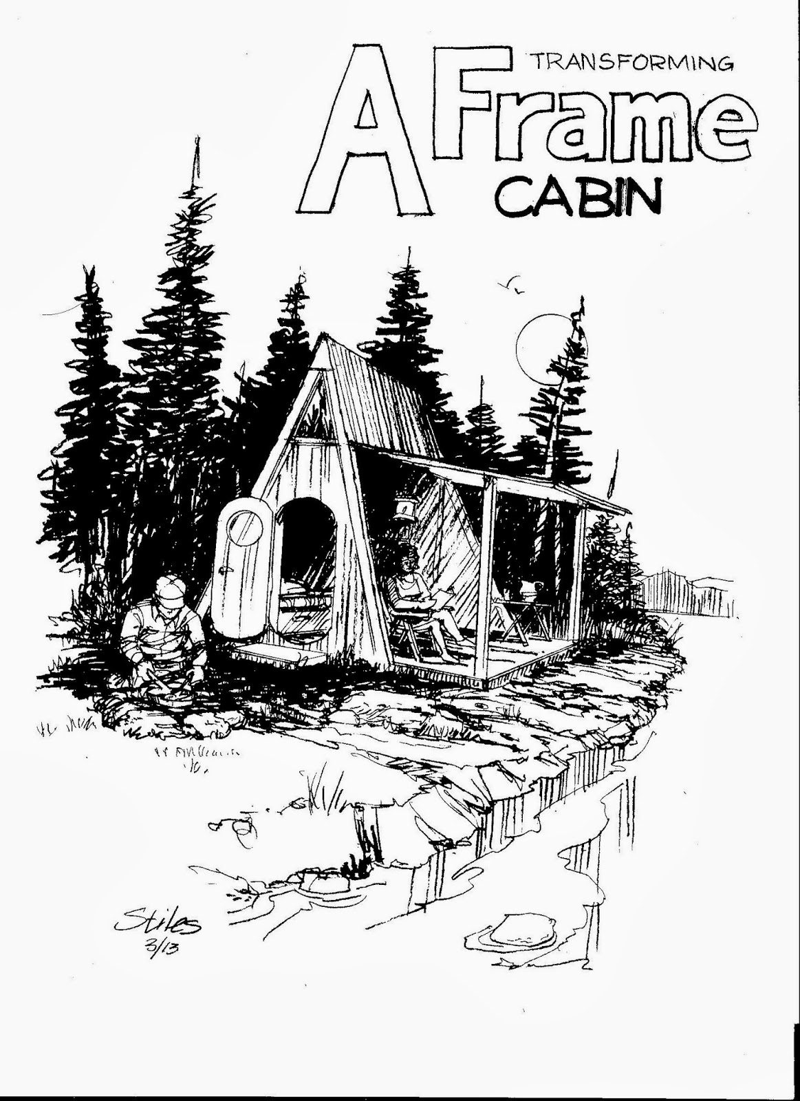 Do It Yourself Cabin Plans Free Small Cabin Plans Small: Relaxshacks.com: Deek, David Stiles, And Joe Everson Team