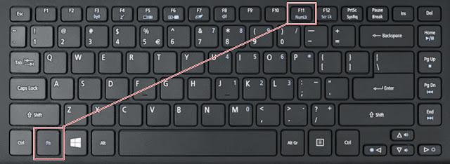 Cara Mengatasi Tombol Keyboard Laptop Tertukar