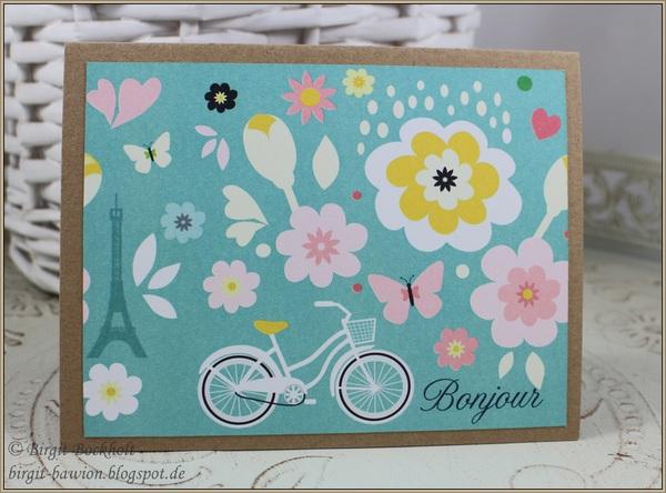 Mit Fahrrad - Bonjour