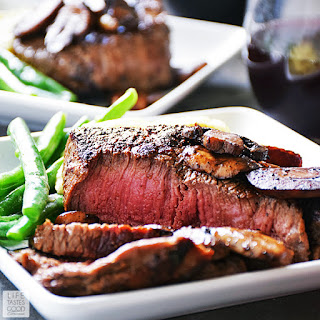 Pan Seared Sirloin Steak Dinner for Two | by Life Tastes Good