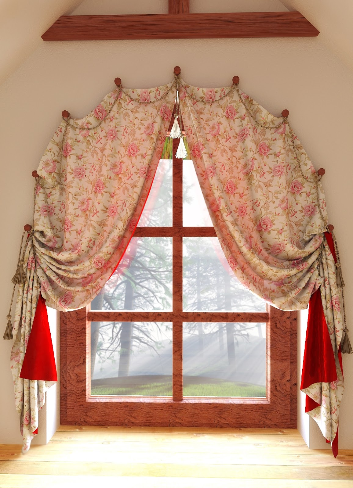 20 Arch Window Curtains And Tips On Arched Window Treatments