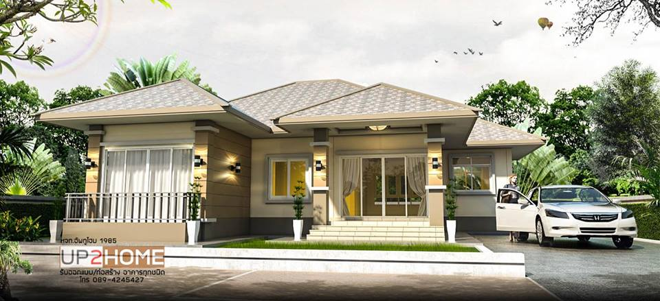Looking for a house design that will suit your taste and the needs of your family? Why don't you scroll down this compilation we made just for a home lover like you? These 10 house design will inspire you to work hard to have a home to call your own. Many of these are bungalow house designs that are a perfect choice for a couple who are looking for their first home or for a matured couple with kids, even for those who are living with old parents. Aside from these, all designs below are single-story that is easy to maintain because you only have a single floor to clean and fix up in case something needs a repair. Get inspired with the pictures below of beautiful houses where you may find your dream house.