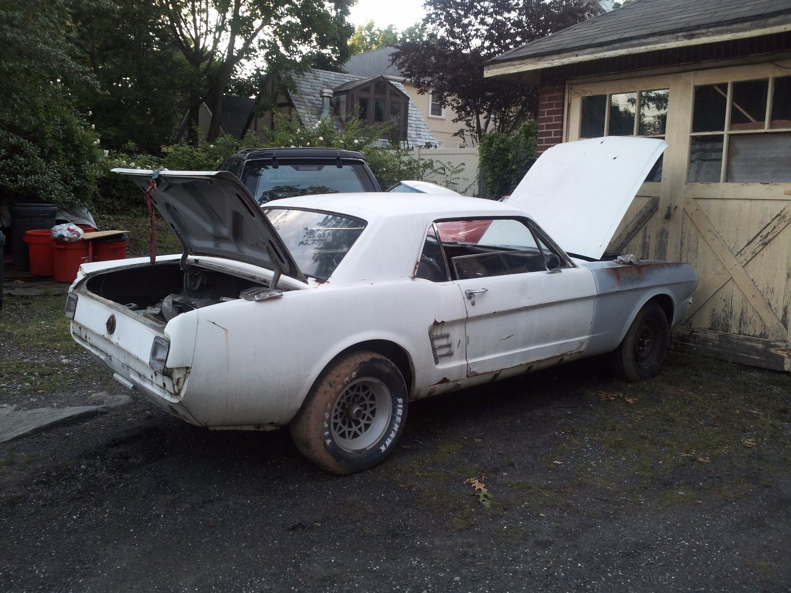 1966 Ford Mustang Project Car Barn Find
