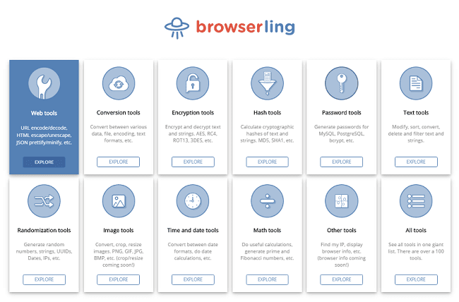 Browserling Web Tools