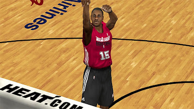 NBA 2K13 Mario Chalmers Cyber Face NBA2K Patch