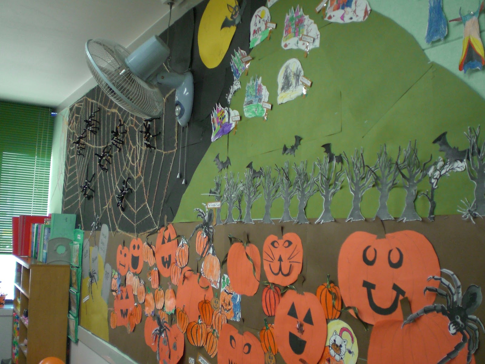The Mosbys In China Diy Halloween Classroom Decor