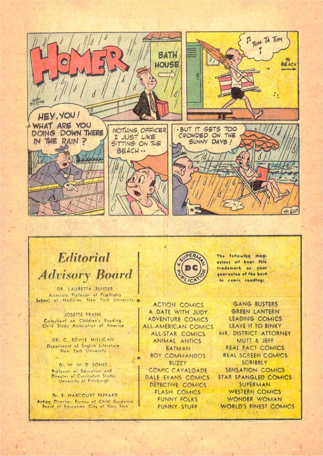 Read online Action Comics (1938) comic -  Issue #124 - 34