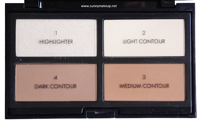 Pupa - Contouring & Strobing #READY4SELFIE. Palette viso nella colorazione 001 Light Skin.