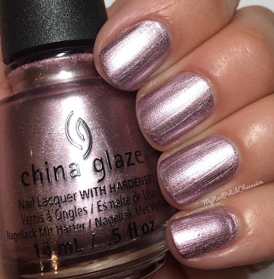 China Glaze House Of Colour, Spring 2016; Chrome Is Where the Heart Is