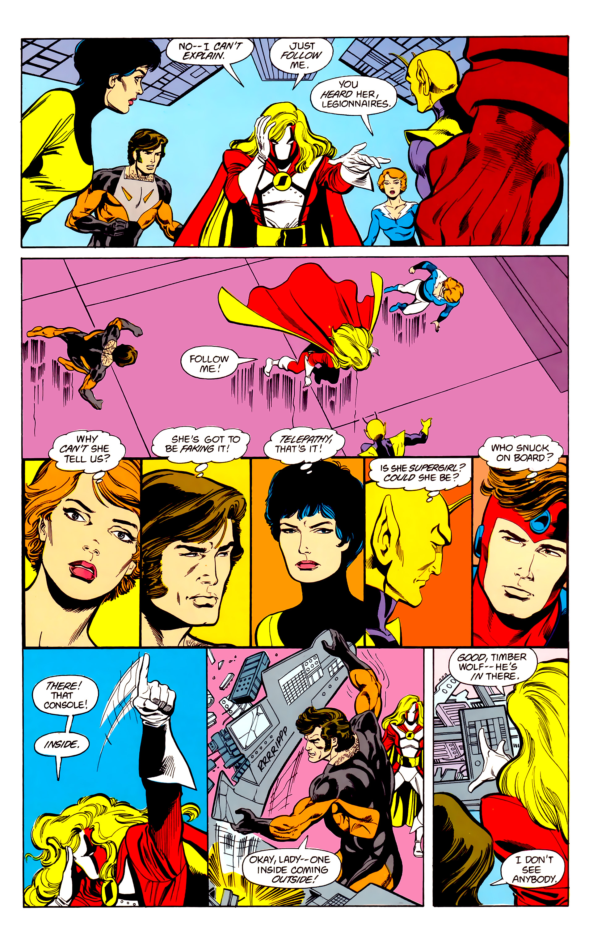 Legion of Super-Heroes (1984) 22 Page 19