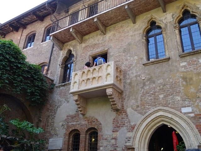 balcón Romeo y Julieta Casa Julieta Verona