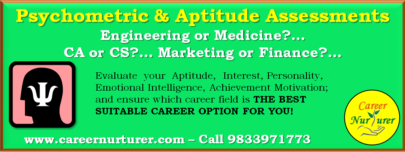 Career Aptitude and Psychometric Test for Career Guidance