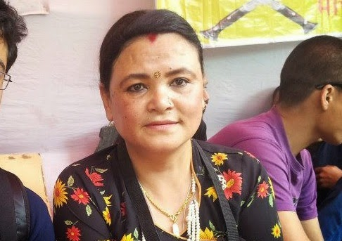 Asha Gurung nari morcha head GJM chief Gurung's wife