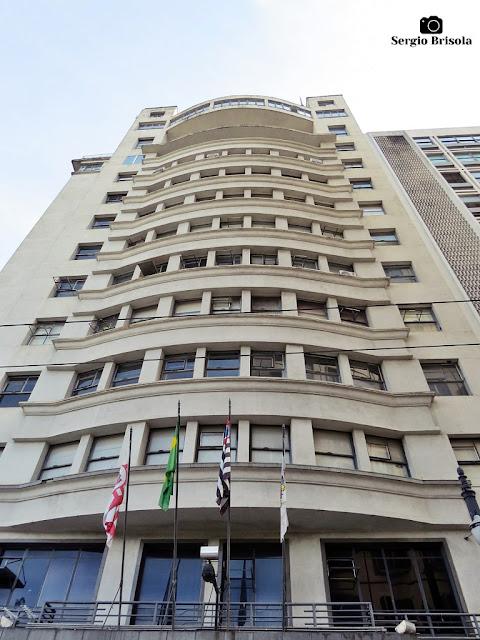 Fachada do edifício da Associação Comercial de São Paulo - Centro