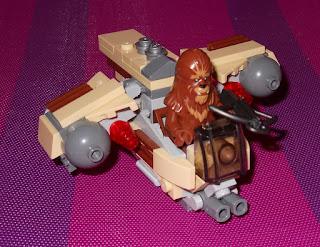 lego wookiee gunship