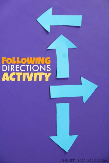 These direction following activities can help kids learn directionality such as left/right awareness, laterality, and directions needed for navigating.
