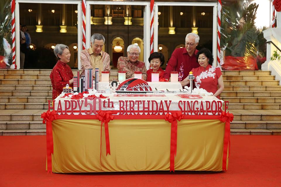 President Tony Tan at  the Happy Jubilee SG50