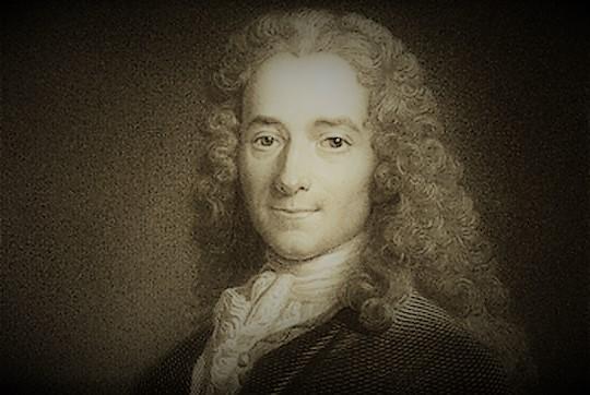 Voltaire, poète français (1694 - 1778)