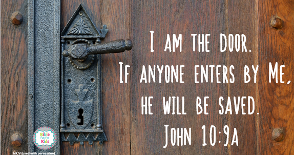 & Bible Fun For Kids: Wordless Wednesday: I Am the Door