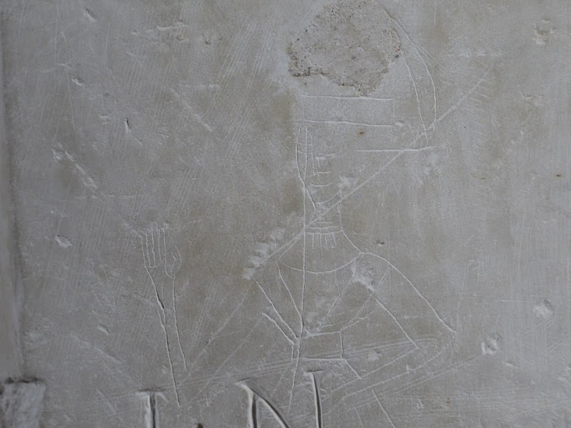 'Medieval Graffiti - a lost art of the Middle Ages' at the St Albans Museum