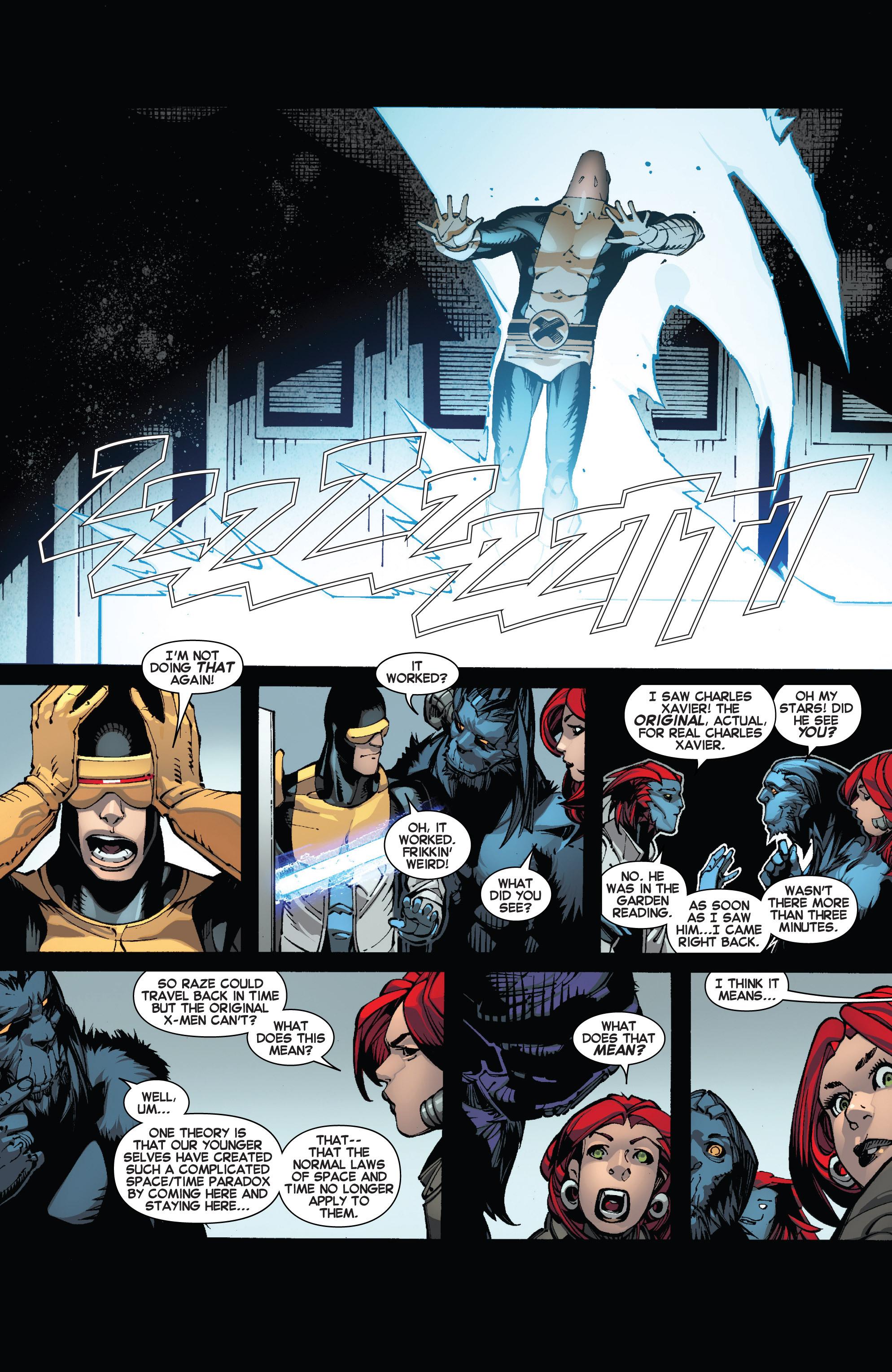 Read online Uncanny X-Men (2013) comic -  Issue #13 - 18