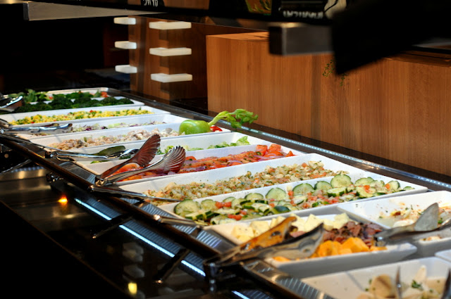Salad Bar at Rodizio Grill in Allentown, PA - Photo by Taste As You Go
