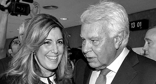 """Susana Díaz, la costurera del """"Ere"""", haría volver a Pablo Iglesias (Posse) al cementerio a """"tumba abierta"""""""