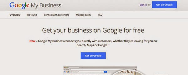 Google Business for listing your Thai Massage Spa