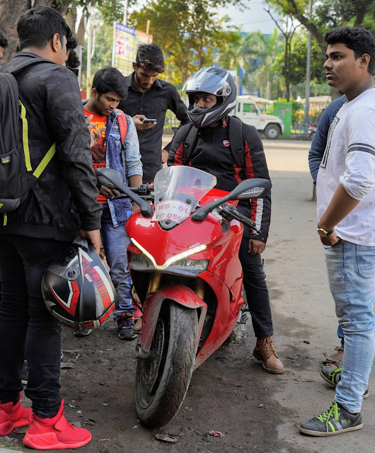 Sourajit Saha With Ducati 2