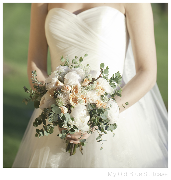 My Old Blue Suitcase: ..another June Wedding Bouquet