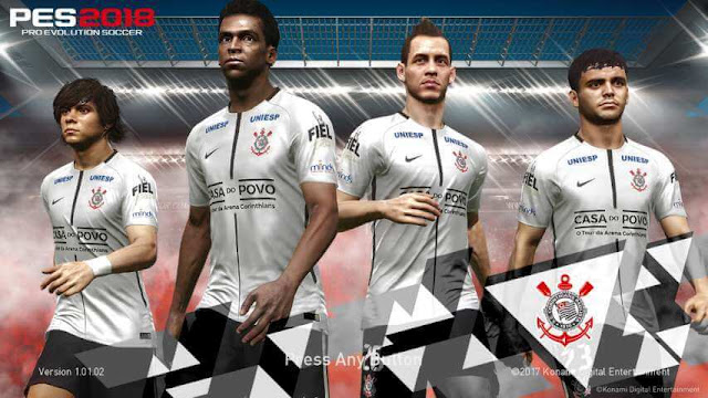 Corinthians Start Screen PES 2018