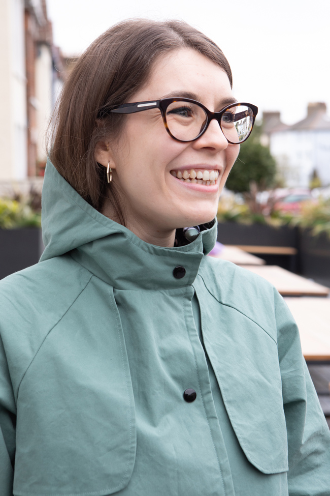 Nikki's Eden Jacket - Sewing pattern by Tilly and the Buttons