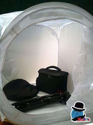 soft box cubo fotografico per foto da professionisti