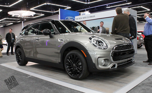 The '16 MINI Clubman is huuuuuge