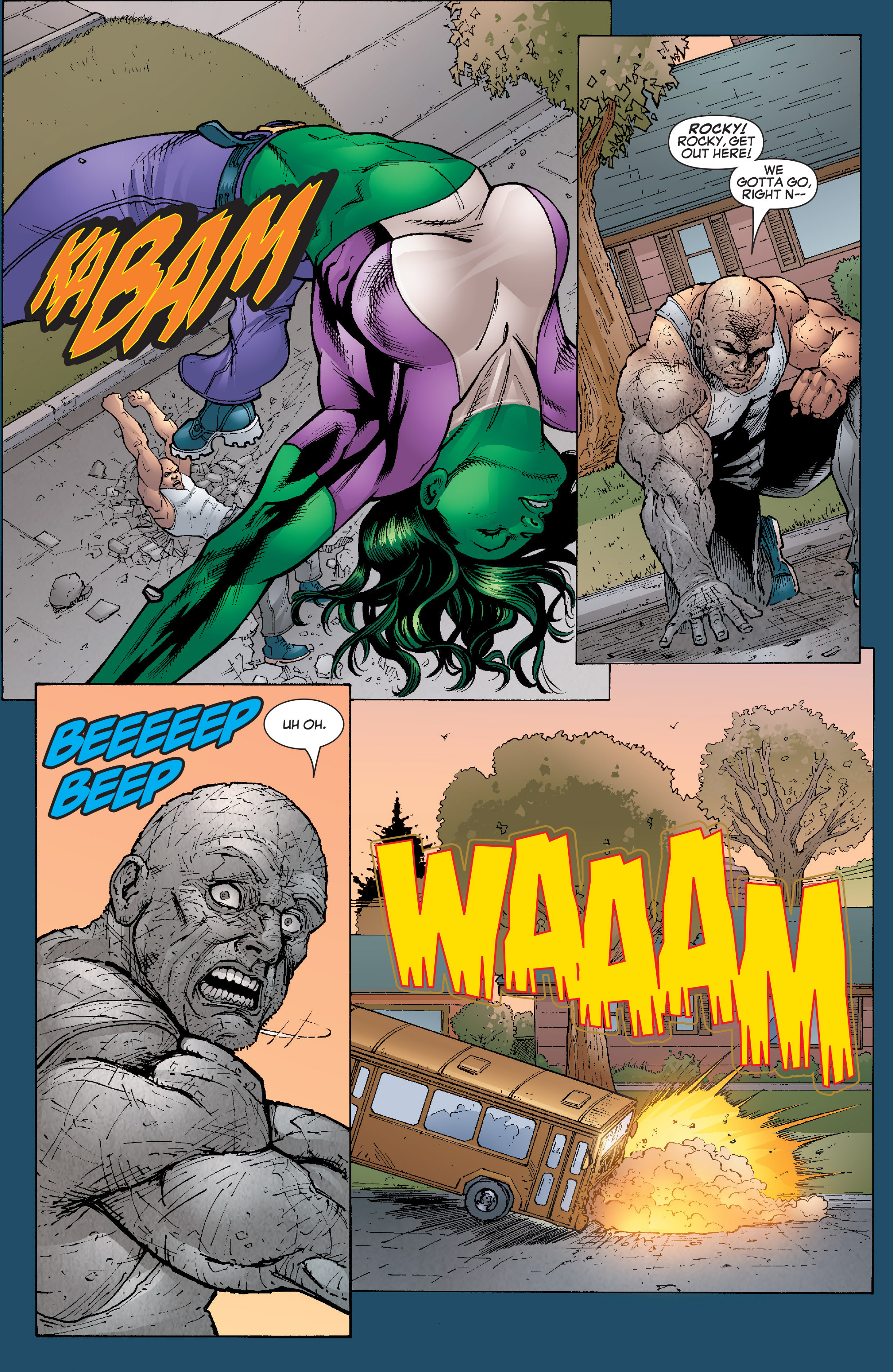 Read online She-Hulk (2005) comic -  Issue #22 - 20