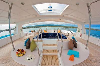 Galápagos Yates de primera clase Crucero Catamarán Cormorant