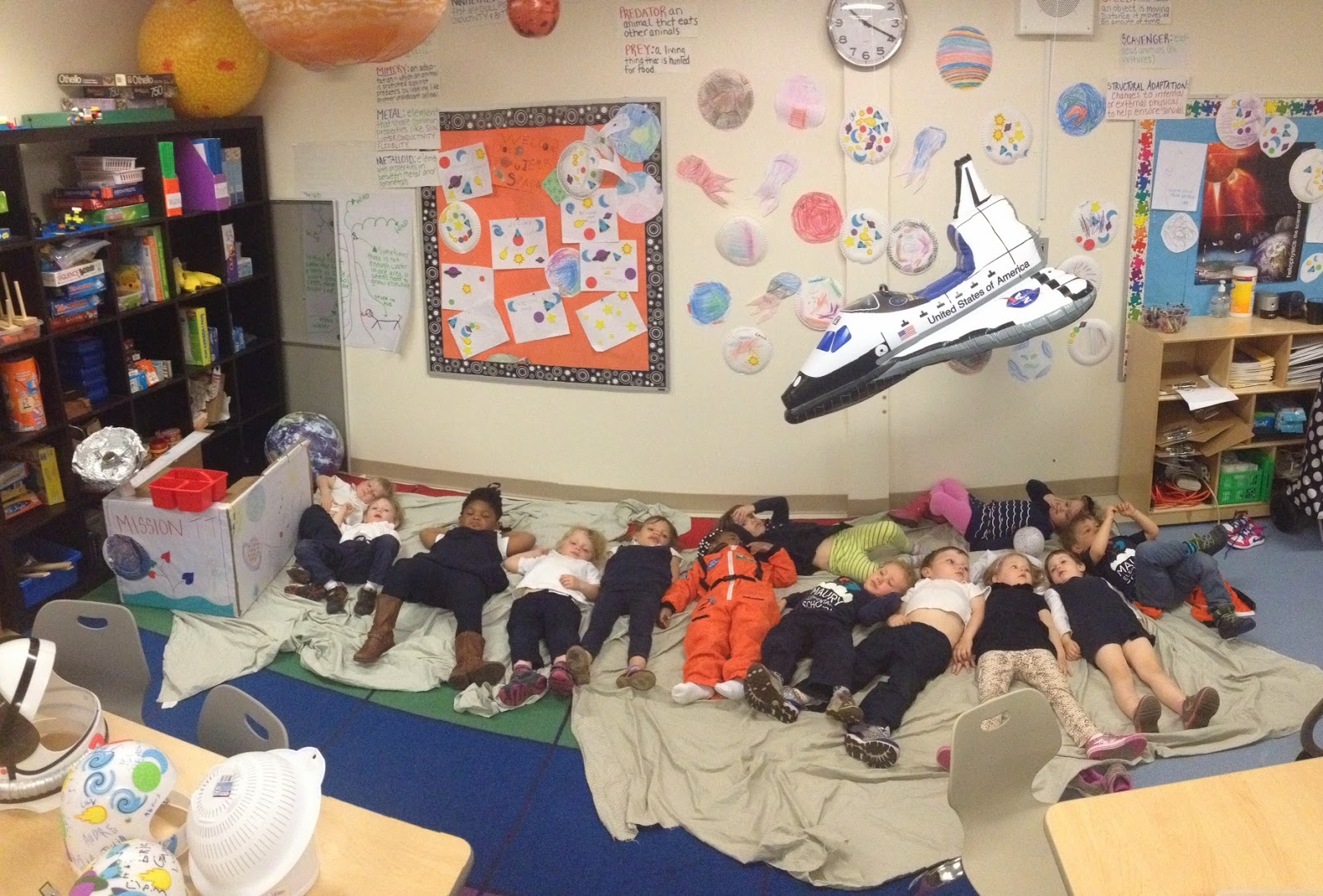 Maury Think Tank: EARLY CHILDHOOD GOES TO SPACE!