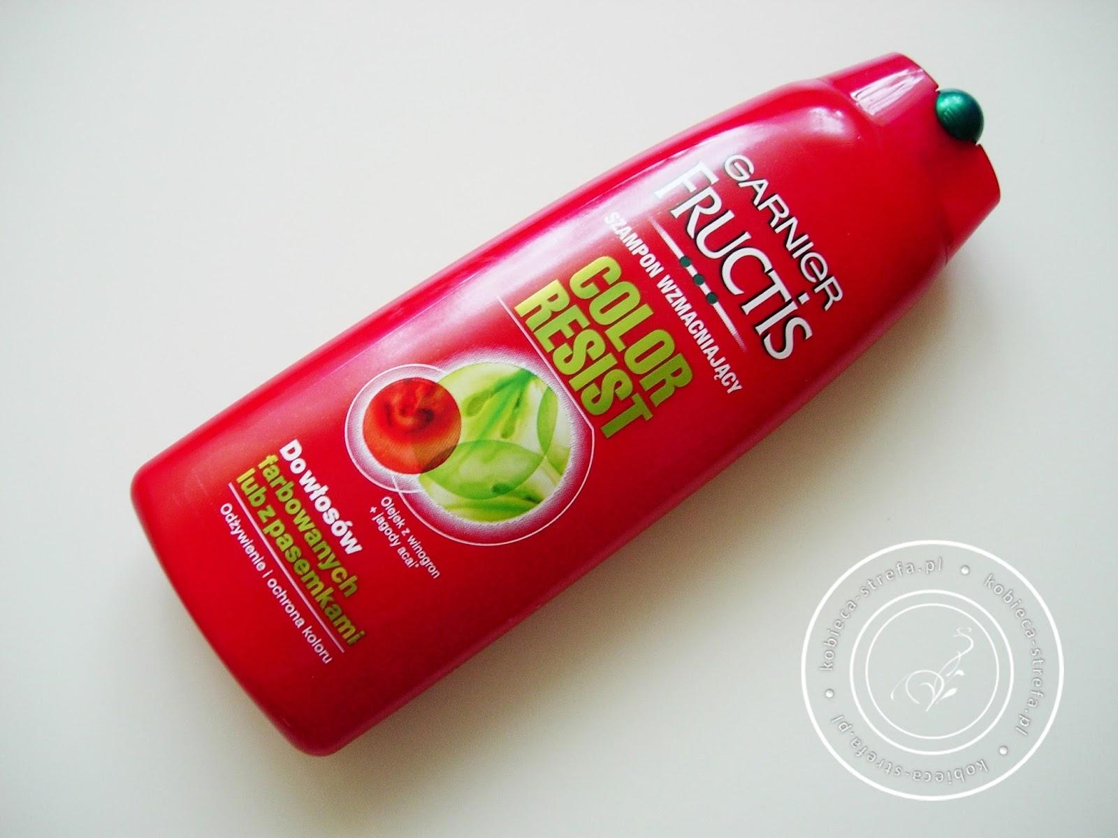 Chrońmy kolor ! Czyli po raz kolejny kosmetyki do włosów Garnier - Color Resist