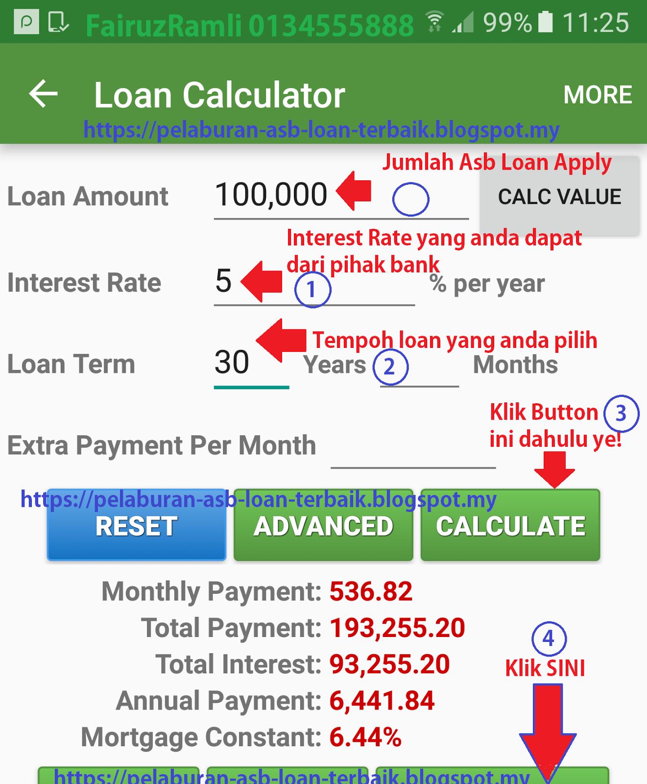 Cara Kira Cash Value Bila Cancel Asb Loan Asb Loan Teknik Asb Loan Pelaburan Asb Loan