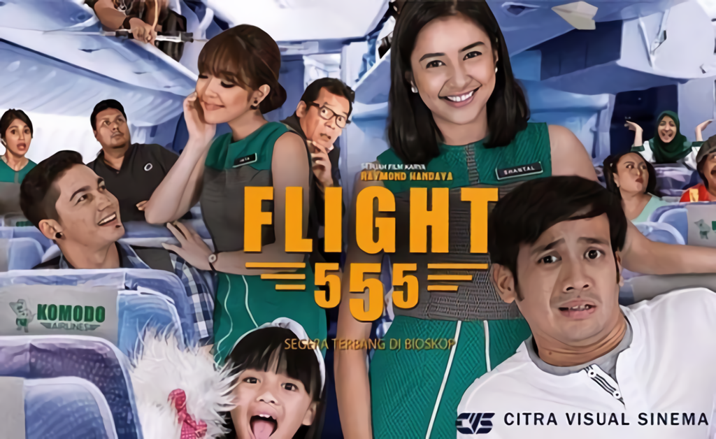 Flight 555 (2018) Movie Indonesia