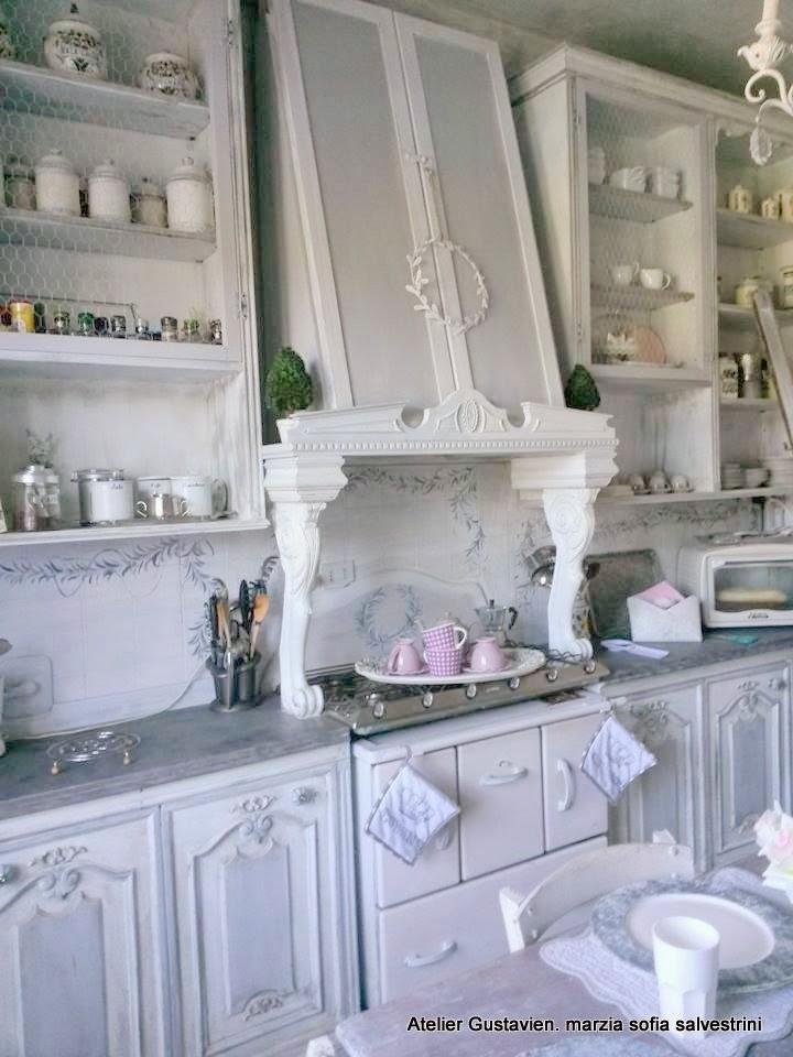 Marzia sofia salvestrini : cucine gustavian chic