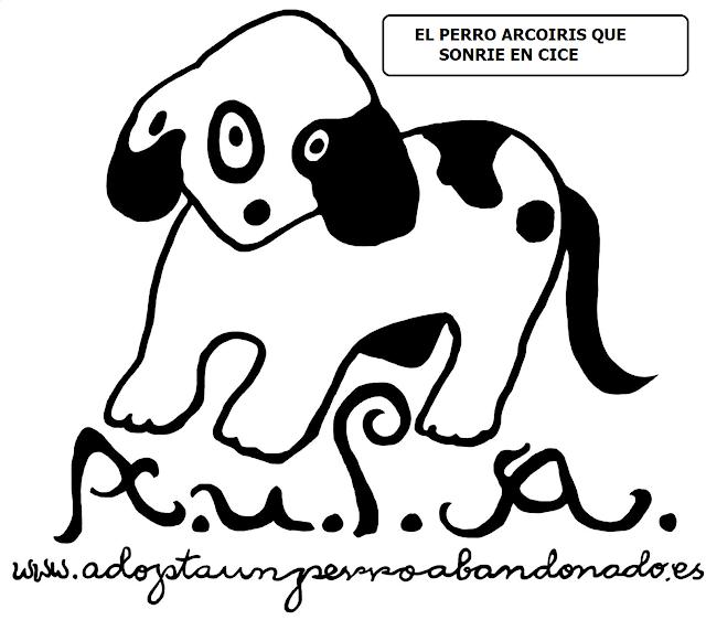 EL PERRO QUE SONRIE EN CICE -AUPA-adopta un perro abandonado.
