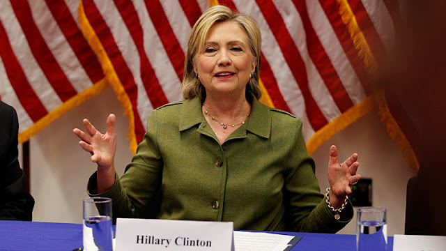 Se hace viral una imagen del Ejército de EE.UU. con Hillary Clinton como amenaza para la seguridad