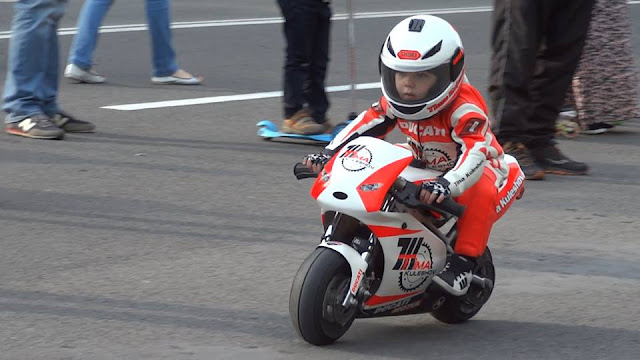 world's youngest professional motorcyclist: entertainment news