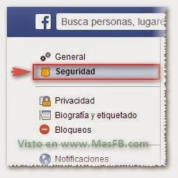 Seguridad Facebook - MasFB