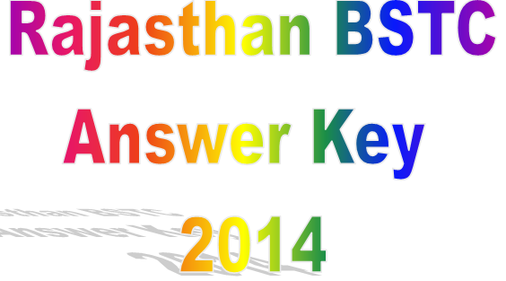 BSTC Answer Key